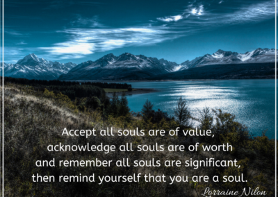 All souls are of worth