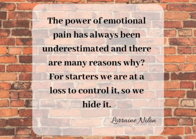 The power of emotional pain