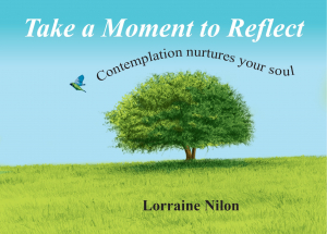 Cover for self-reflection quote book- tree represents life and bird represents freedom