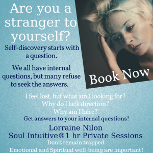 Sad lady full of puzzling questions - book a private session